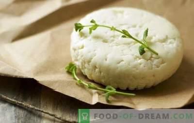 Hur man gör getost ost hemma: enkla recept. Hur man gör getost: rekommendationer