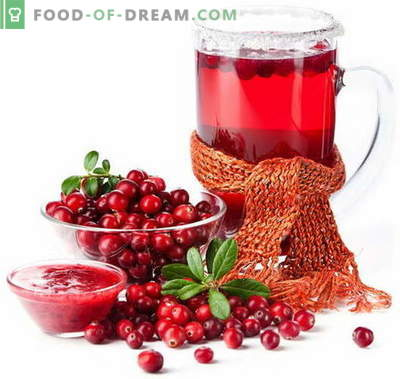 Cranberry juice - the best recipes. How to properly and tasty cook cranberry juice.