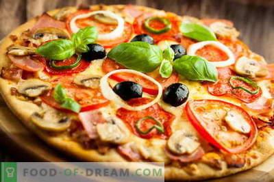 Matar italiensk pizza och frigör kylskåpet